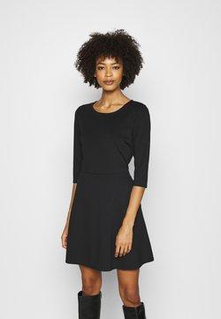 GAP - PONTE DRESS - Vestido de punto - true black