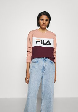 Fila - LEAH - Sweatshirt - tawny port/coral cloud/bright white