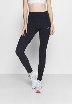 adidas Performance - LIN LEG - Tights - dark blue