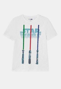 GAP - BOY STAR WARS - T-Shirt print - optic white