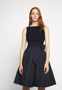 Lauren Ralph Lauren - MEMORY DRESS COMBO - Vestido de cóctel - lighthouse navy