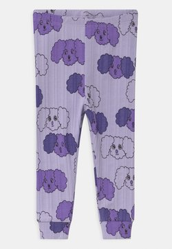 Mini Rodini - FLUFFY DOG UNISEX - Legging - purple