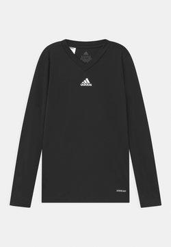 adidas Performance - TEAM BASE UNISEX - Tekninen urheilupaita - black