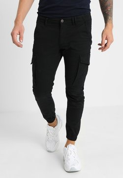 Jack & Jones - JJIPAUL JJFLAKE - Cargobroek - black