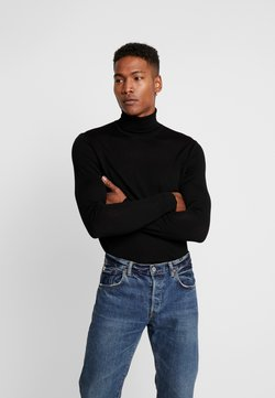 Samsøe Samsøe - FLEMMING TURTLE NECK - Maglione - black