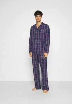 GANT - TARTAN CHECK GIFTBOX SET - Pyjamas - marine