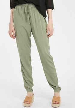 b.young - STOFFHOSE BYISOLE - Jogginghose - sea green