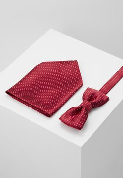 Only & Sons - ONSTBOX THEO TIE SET - Mouchoir de poche - pompeian red/white