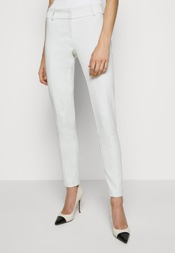 Patrizia Pepe - LOW FIT PANT - Stoffhose - clay white
