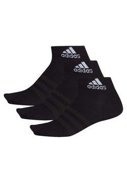adidas Performance - 3 PAIRS - Urheilusukat - black