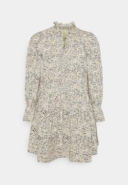 Vero Moda Petite - VMSIA V-NECK TUNIC  - Sukienka letnia - rainy day