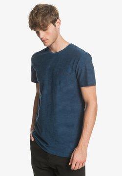 Quiksilver - KENTIN - T-Shirt print - blue