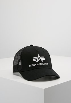 Alpha Industries - BASIC TRUCKER UNISEX - Lippalakki - black
