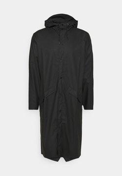 Rains - LONGER JACKET UNISEX - Waterproof jacket - black