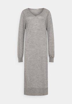 GAI+LISVA - ZENIA - Vestido de punto - grey melange