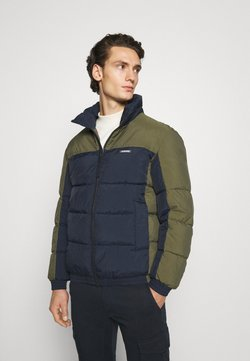 Jack & Jones - JORSPECTOR PUFFER JACKET - Winterjacke - navy blazer