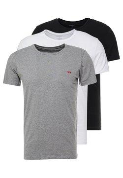 Diesel - 3 PACK - Nachtwäsche Shirt - grey/black/white
