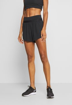 Nike Performance - RUN SHORT 2 IN 1 - Pantalón corto de deporte - black
