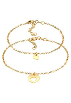 Elli - 2 PACK HEART CUT OUT - Armband - gold