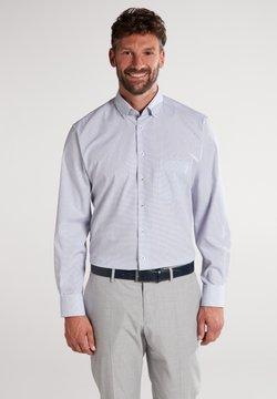 Eterna - MODERN FIT - Hemd - blau/braun