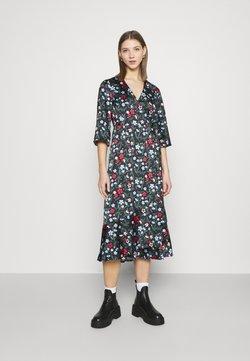 Monki - AMANDA DRESS - Freizeitkleid - black