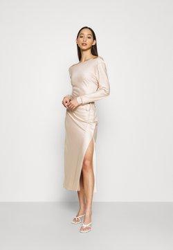 Glamorous - STUDIO COWL MIDAXI DRESS - Cocktailkleid/festliches Kleid - champagne