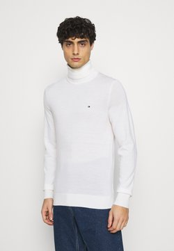 Tommy Hilfiger Tailored - FINE GAUGE LUXURY ROLL  - Strickpullover - moonglow