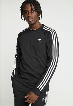 adidas Originals - 3 STRIPES UNISEX - Longsleeve - black