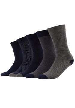 Pier One - 5 PACK - Socken - dark blue/mottled grey