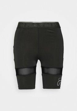 Fila - ALKE SHORT - Trikoot - black