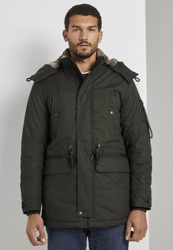 TOM TAILOR - MIT KORDELZUG - Parka - shadow olive