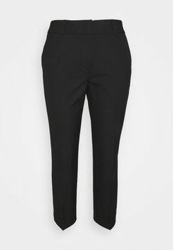 Selected Femme Petite - SLFRIA CROPPED PANT - Kangashousut - black