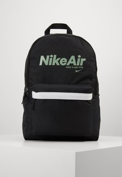 Nike Sportswear - AIR HERITAGE - Sac à dos - black/black/silver pine