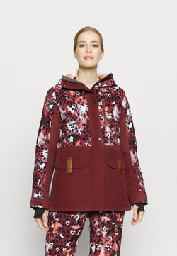 Roxy - ANDIE - Snowboard jacket - oxblood/red leopold