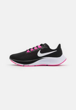 Nike Performance - AIR ZOOM PEGASUS 37 - Neutrala löparskor - black/white/pink blast