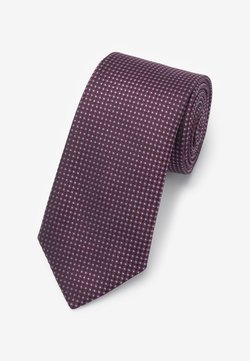 Next - MADE IN ITALY - Krawatte - dark purple
