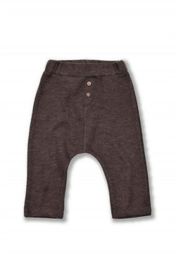 Cigit - Button Detailed Ottoman Pant (1 to 5 years) - Trainingsbroek - brown