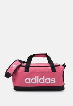 adidas Performance - LINEAR DUFFEL S UNISEX - Sporttasche - hazy rose/black/white