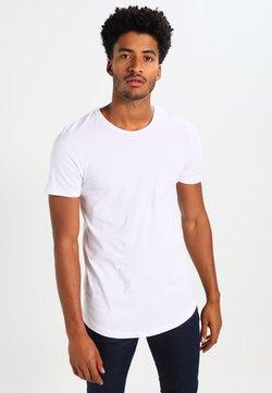 Jack & Jones - JJPRHUGO TEE CREW NECK  - T-Shirt basic - white