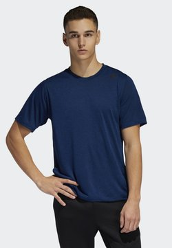 adidas Performance - FREELIFT TECH CLIMACOOL FITTED T-SHIRT - Printtipaita - blue