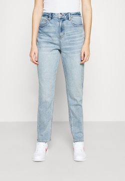 American Eagle - CURVY MOM - Jeans Relaxed Fit - light-blue denim