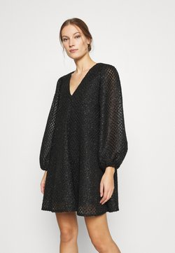 Résumé - BENJA DRESS - Juhlamekko - black
