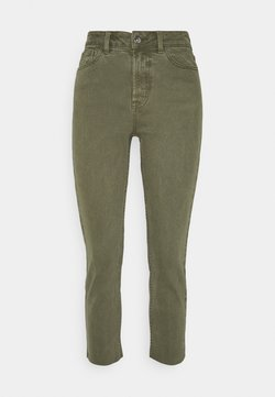 ONLY Petite - ONLEMILY LIFE RAW - Straight leg jeans - kalamata