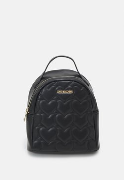Love Moschino - HEART QUILTED BACKPACK - Sac à dos - nero