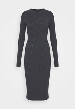 Zign - Strickkleid - Vestido de tubo - dark grey