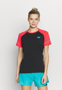 Dynafit - ALPINE PRO TEE - T-Shirt print - fluo pink