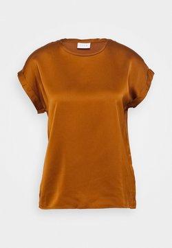 Vila - VIELLETTE - T-shirt basic - adobe