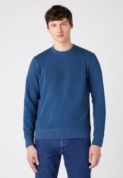Wrangler - TONAL - Bluza - dark blue teal