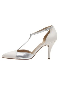 PoiLei - PALOMA - High Heel Pumps - white/silver-coloured