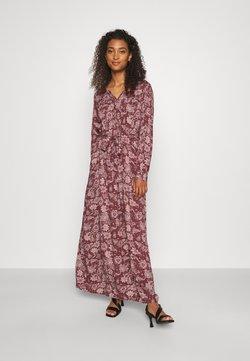 ONLY - ONLVIRGINIA LIFE LONG DRESS - Maxiklänning - burnt henna